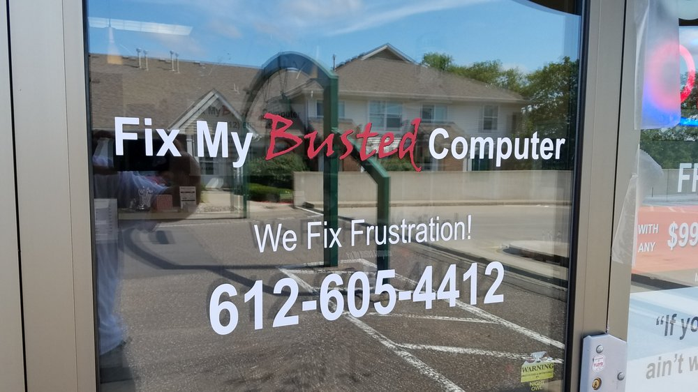 Fix My Busted Computer: 695 Winnetka Ave N, Golden Valley, MN