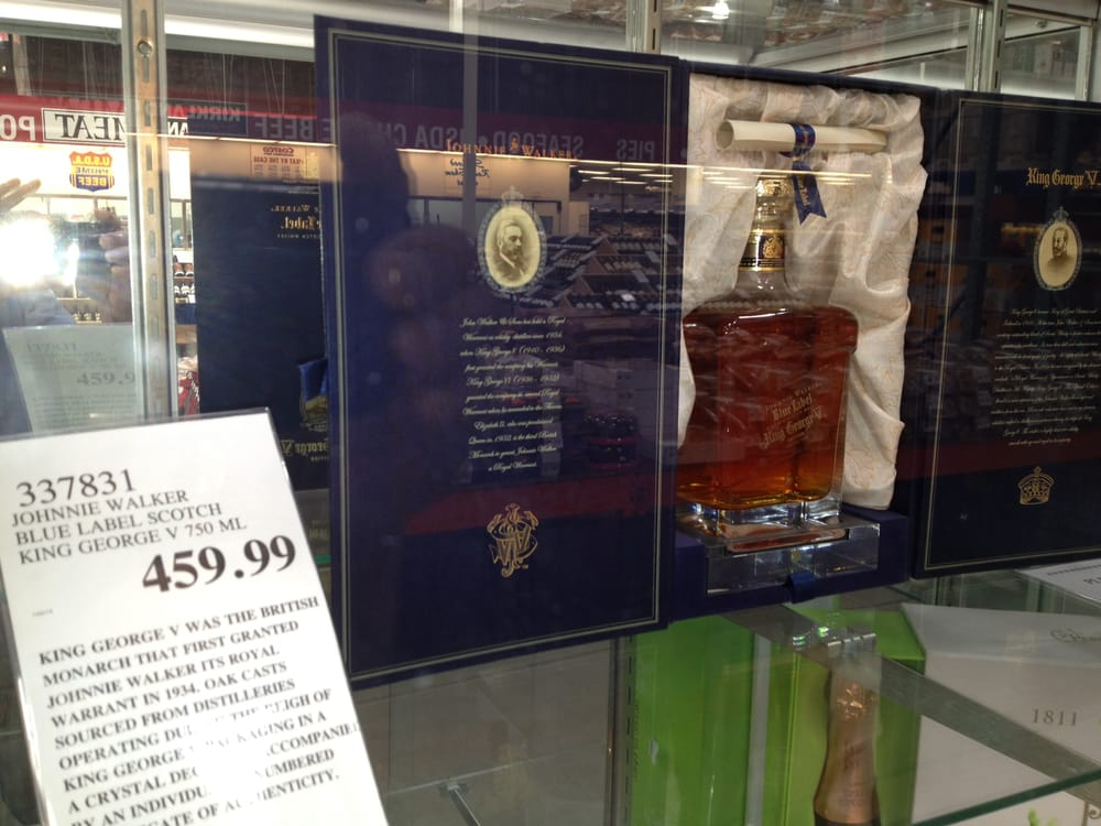 $460 johnnie walker king george scotch - yelp