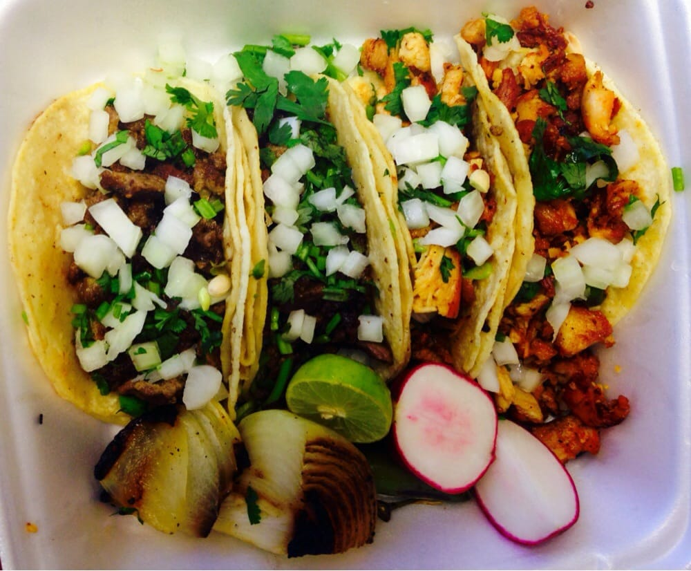 Photo of Tacos La Piedad - <a href='http://phillip.baizrealtygroup.com/index.php?types[]=1&types[]=2&areas[]=city:Sacramento&beds=0&baths=0&min=0&max=100000000&map=0&quick=1&submit=Search' title='Search Properties in Sacramento'>Sacramento</a>, CA, United States. Carne asada and grilled chicken street tacos