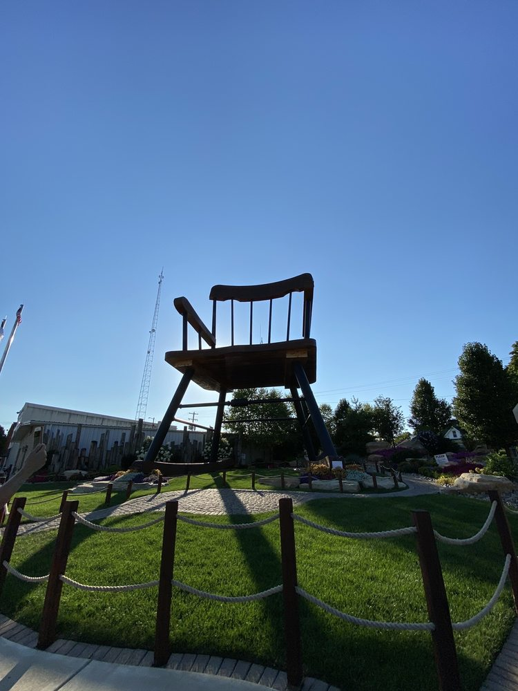 World's Largest Rocking Chair: 110 E Main St, Casey, IL