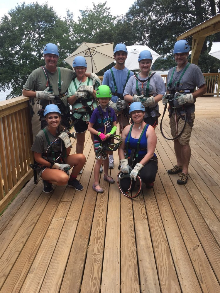 Treetop Adventures on Lake Hickory: 6663 Valwood Rd, Conover, NC