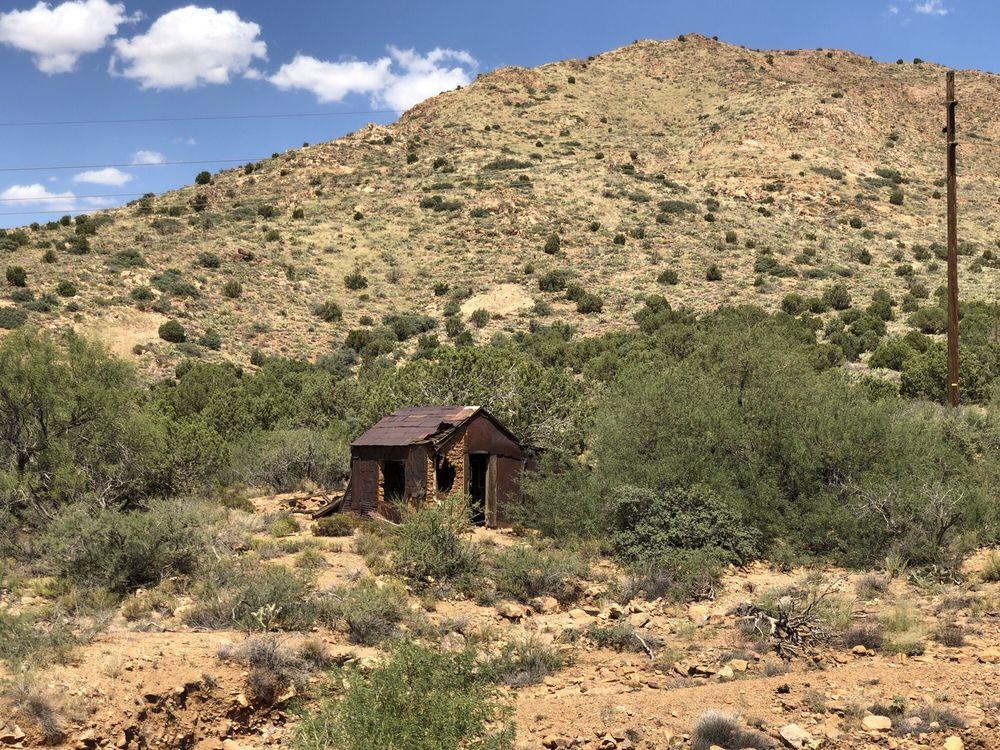 Cerbat Historical Marker: US 93, Golden Valley, AZ