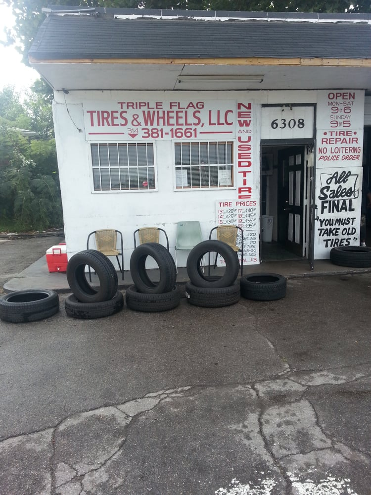 Triple Flag Tires And Wheels: 6308 Windham Ave, Saint Louis, MO
