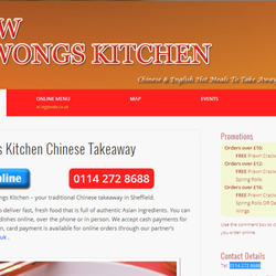 New wongs kitchen chinese takeaway chinois 478 manor for C kitchen chinese takeaway restaurant