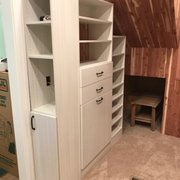 White Melamine Closet With Photo Of Chattanooga Closet   Chattanooga, TN,  United States. Snowdrift Live Melamine Closet