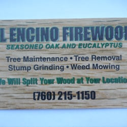 El encino firewood firewood ramona ca phone number yelp photo of el encino firewood ramona ca united states their business card colourmoves