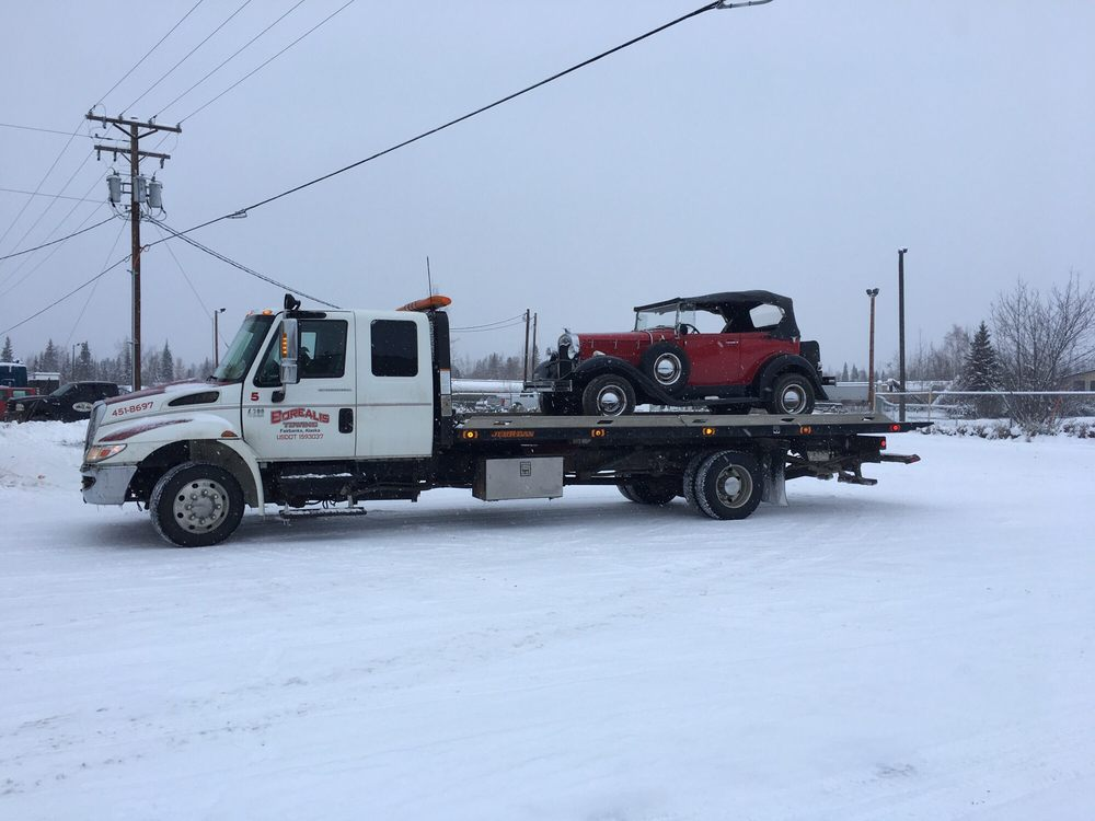Towing business in College, AK
