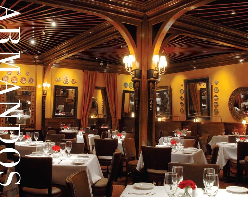 Interior of restaurant main dining room yelp