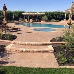 Photo Of Concrete Driveway Contractors Stockton Ca United States Decorative Pool