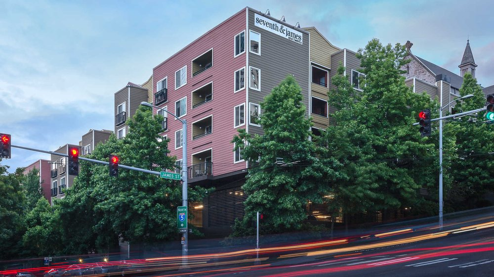 Awesome Seventh and James Apartments Seattle