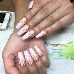 Photo Of Diamond Nails Organic Spa Los Angeles Ca United States