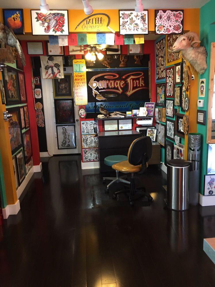 Garage Ink Tattoo Studios & Fine Art Gallery: 1525 Lincoln Ave, Napa, CA