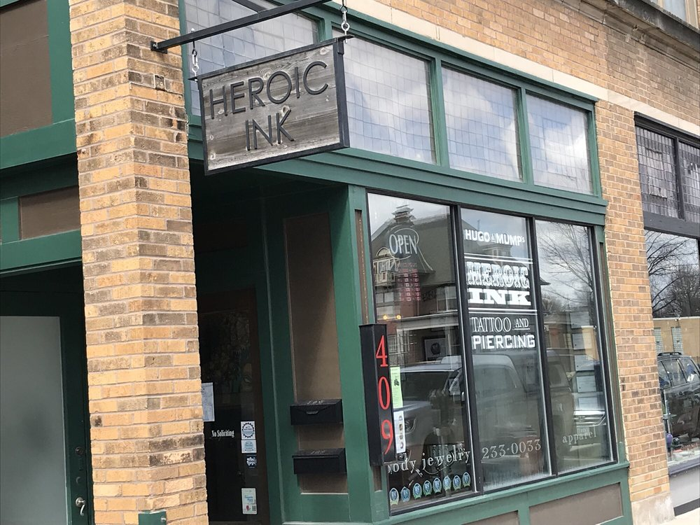 Heroic Ink Tattoo and Piercing: 409 Douglas Ave, Ames, IA