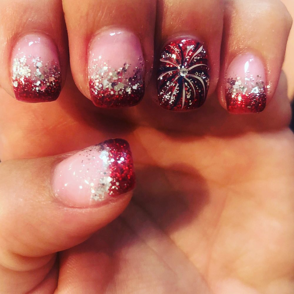 Fireworks Nail Design For 4th Of July Yelp