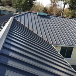 Photo Of Allied Roofing Installation Services   Kent, WA, United States.  Metal Job