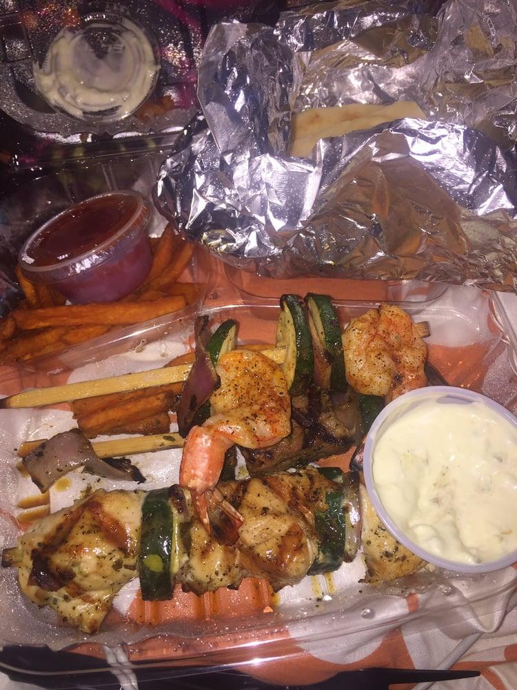 My skewers yelp for Malibu fish grill