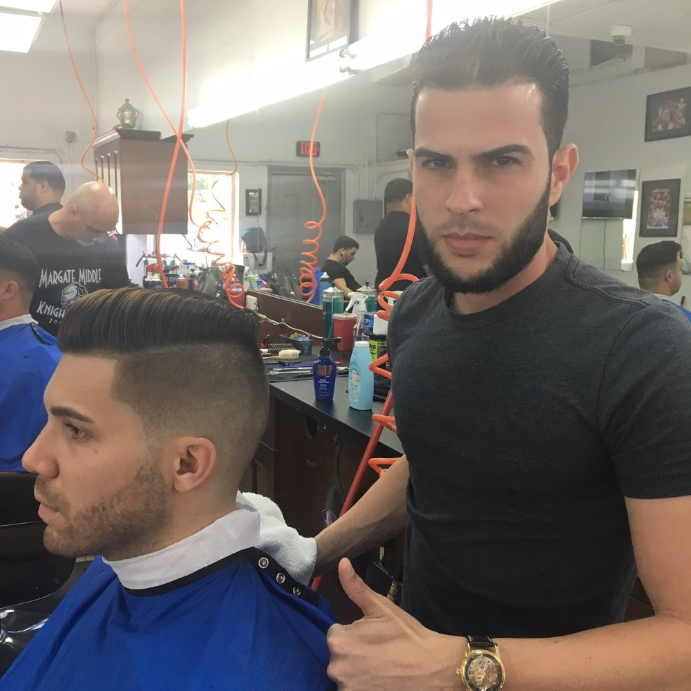 how to give a barbershop shave
