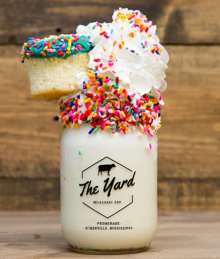 The Yard Milkshake Bar: 3840 Promenade Pkwy, D'Iberville, MS