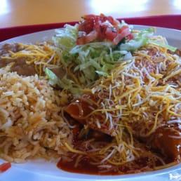 Photo Of El Patio   Woodland, CA, United States. #5 Chicken Enchilada