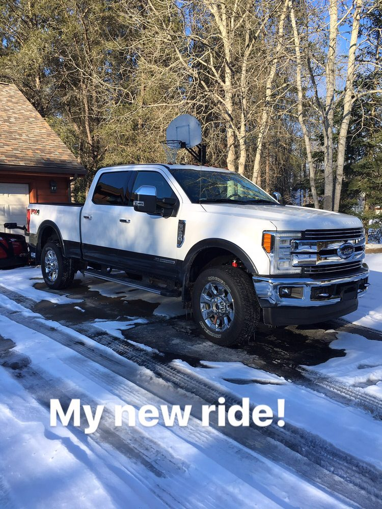 My New Truck From Dean Arbor Ford In Alpena Michigan Yelp