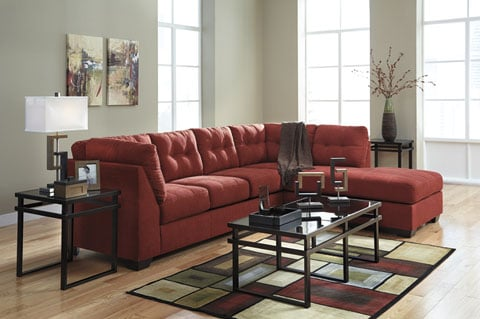 Photo Of Brotheru0027s Fine Furniture   Philadelphia, PA, United States. Red  452 Sectional