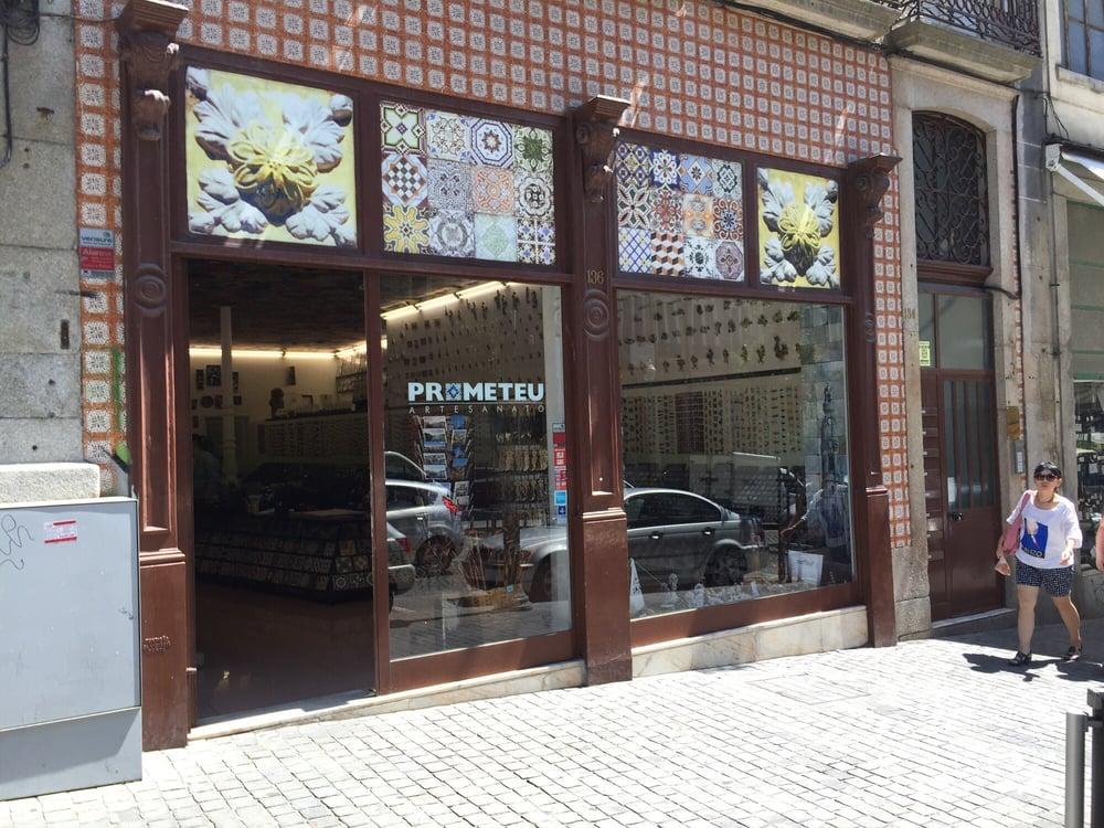 Artesanato Rio De Janeiro Centro ~ Prometeu Artesanato Arts& Crafts Rua Mouzinho da Silveira, 136, Porto, Portugal Phone