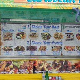 The tropic truck menu