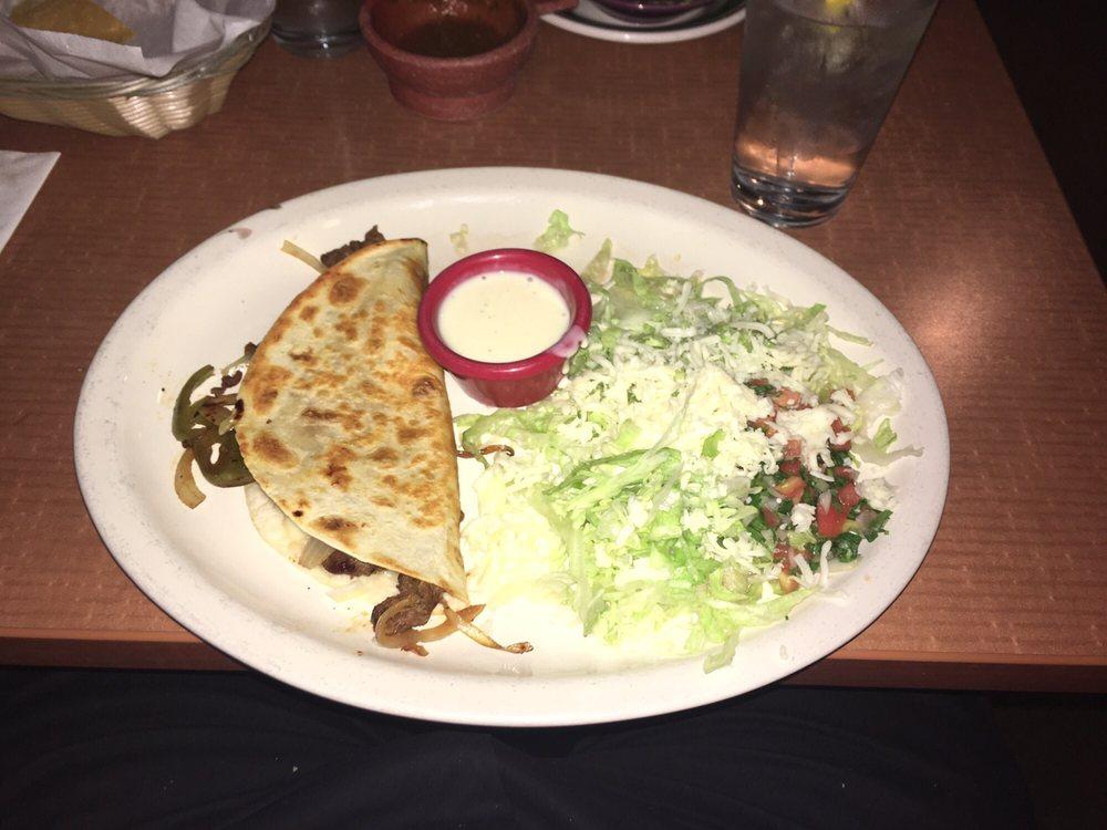 Food from La Posada Mexican Grill