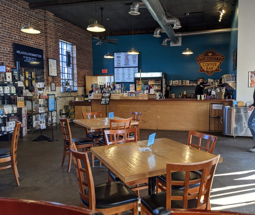 Curiosity Coffee Bar: 2327 Main St, Columbia, SC