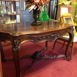 Photo Of Thriftique Thrift Store   Gulfport, MS, United States. Antique  Wood Desk
