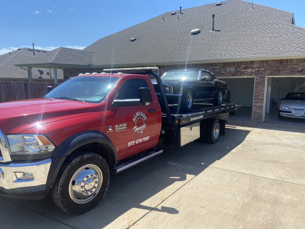 Towing business in Midlothian, TX