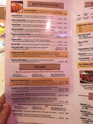 image regarding Texas Roadhouse Printable Menu known as Texas Roadhouse - 52 Visuals 67 Testimonials - Steakhouses - 720