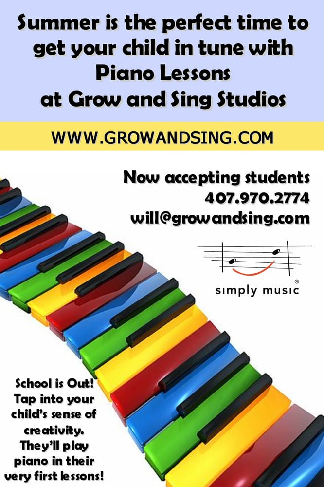 Piano Lessons by Grow and Sing Studios, Inc.: 4133 Stonefield Dr, Orlando, FL