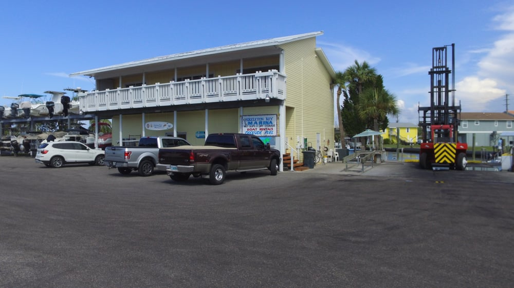 Skeleton Key Marina: 6300 Clark St, Hudson, FL