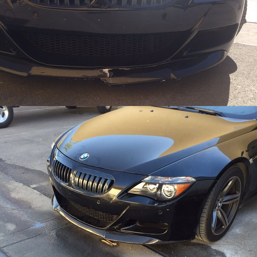 New Carbon Fiber Ground Effect On A Bmw M6 Yelp