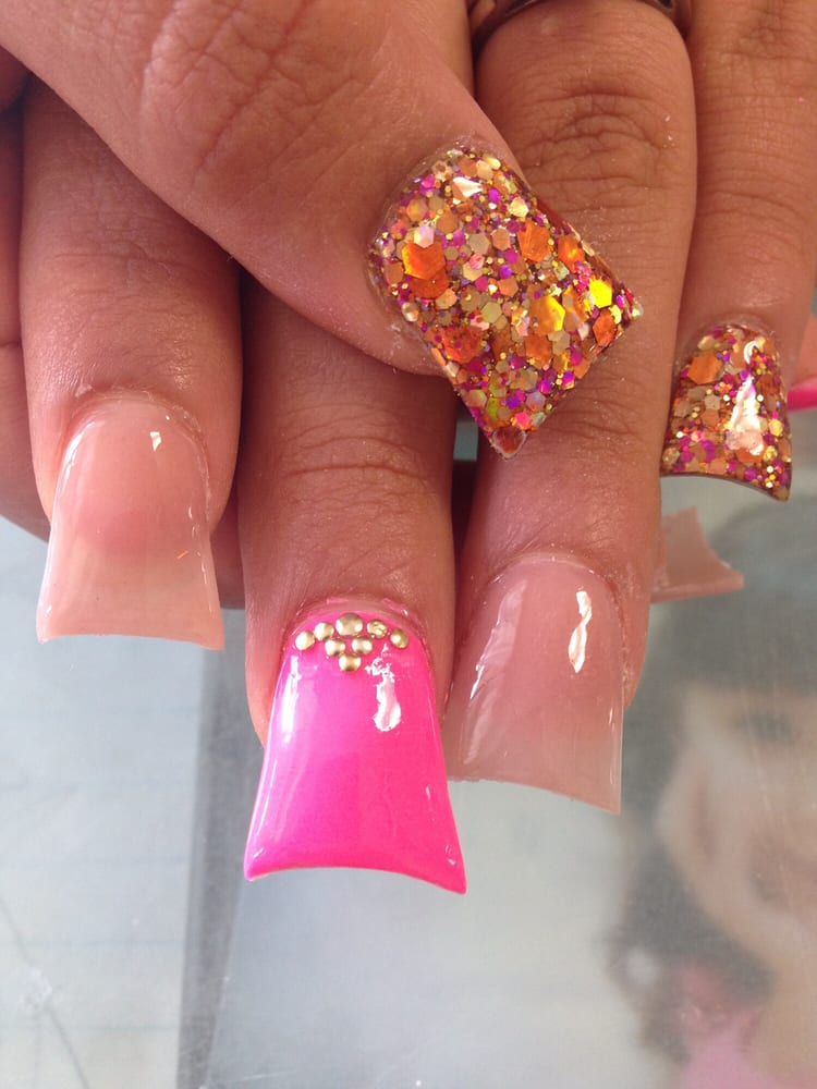 Flared Acrylic Nails. - Yelp