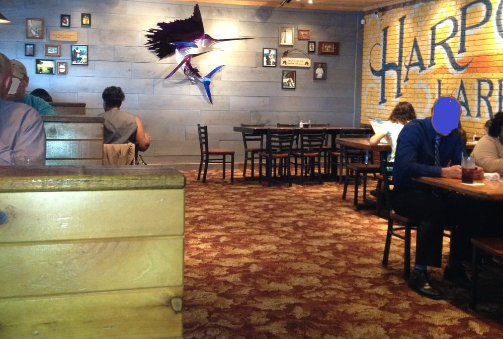 Electricians In My Area >> Interior shot of part of the Dining Area of the new Harpoon Larry's in Newport News. Open 11 am ...