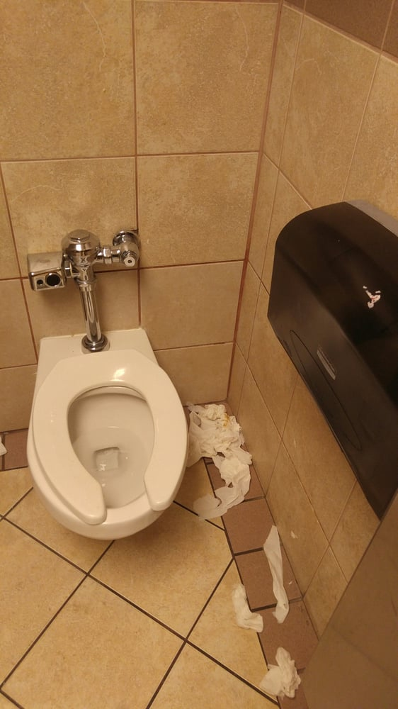 Closest Sprint Store To My Location >> Yes, actual SHIT STAINED TP strewn all over the floor! - Yelp