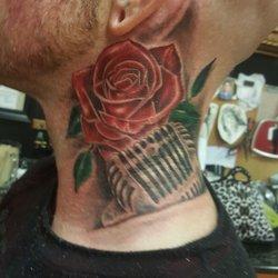 Photo Of Young Guns Tattoo Studio Modesto Ca United States Tattoos By