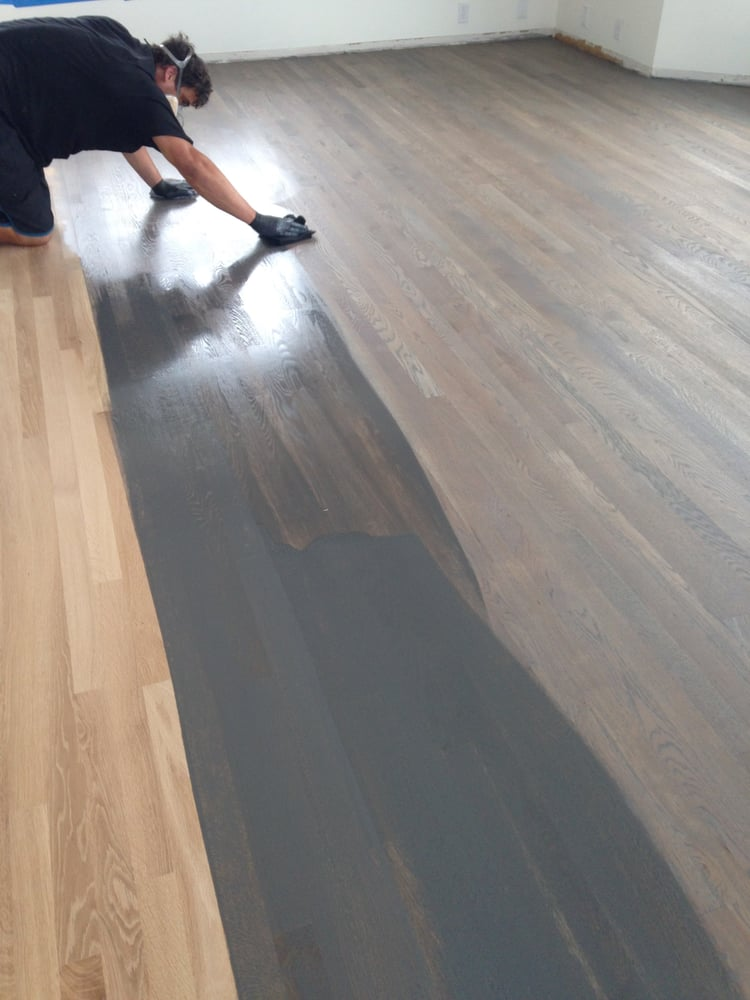 Photo Of Da Vinci Floors Honolulu Hi United States Oak Floor Stained