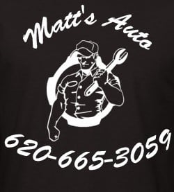 Matt's Auto & Repair: 827 Grant St, Hutchinson, KS
