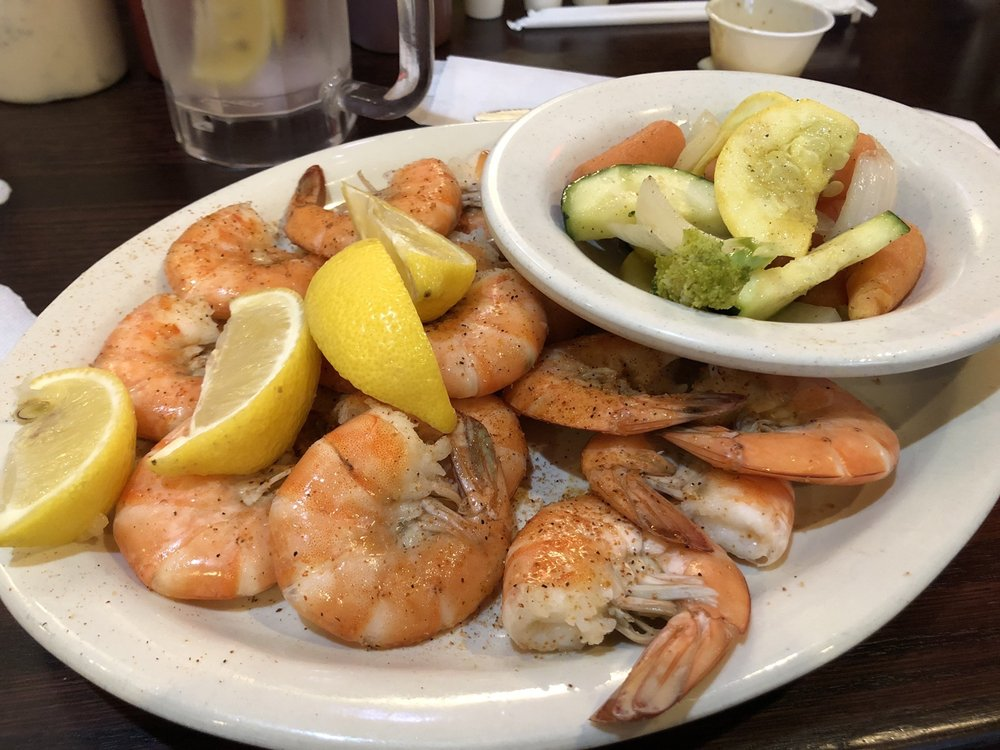 Food from Baytown Seafood Restaurant