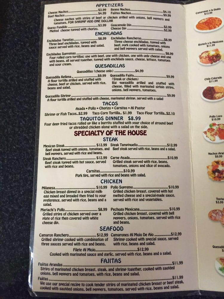 Mexican Restaurant Madison Fl