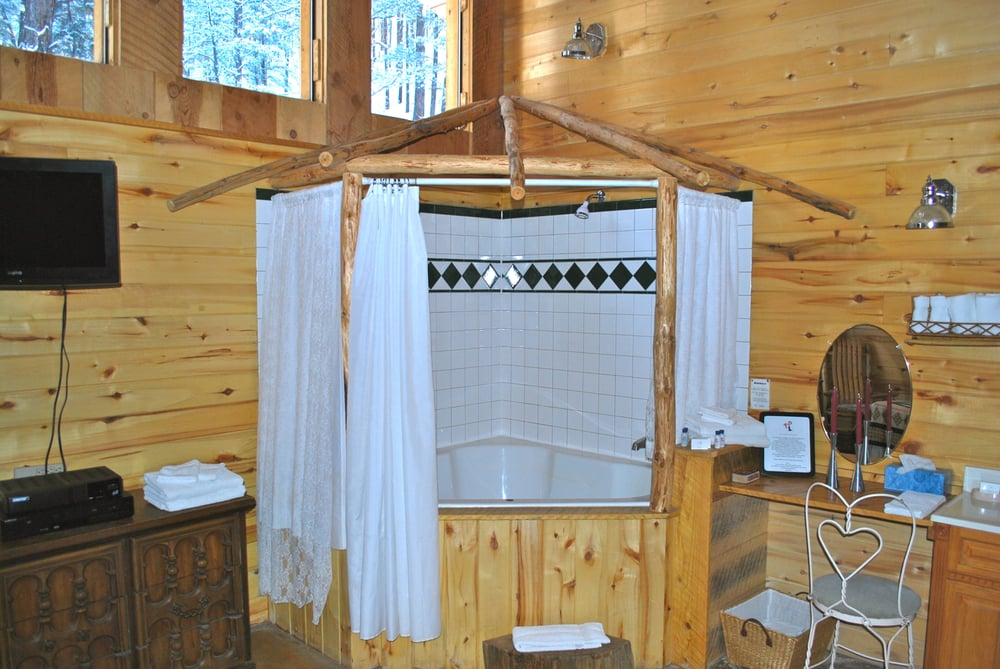 2 person oversized Jacuzzi tub shower bo in the