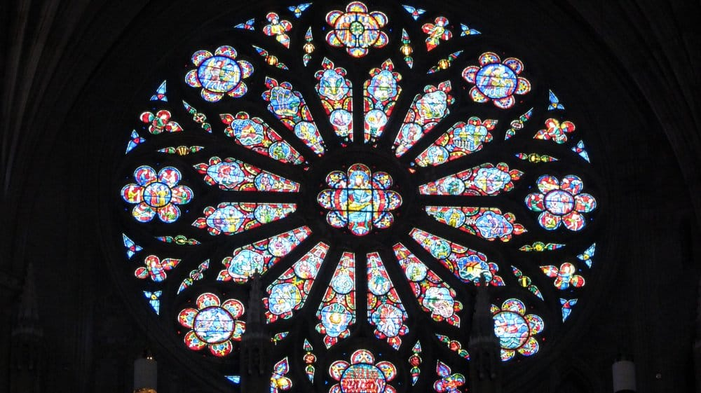 Photo of Washington National Cathedral - Washington, DC, United States. West Rose Window