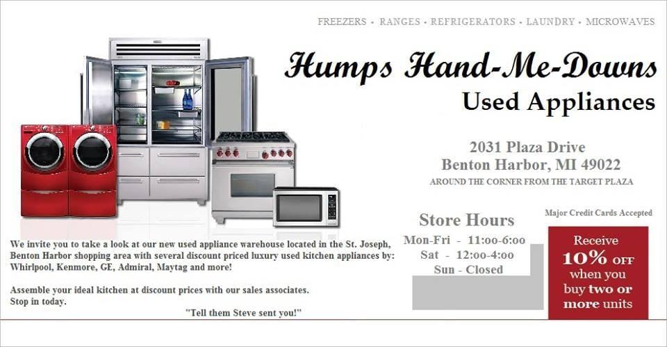 Humps Hand-Me-Downs: 2031 Plz Dr, Benton Harbor, MI