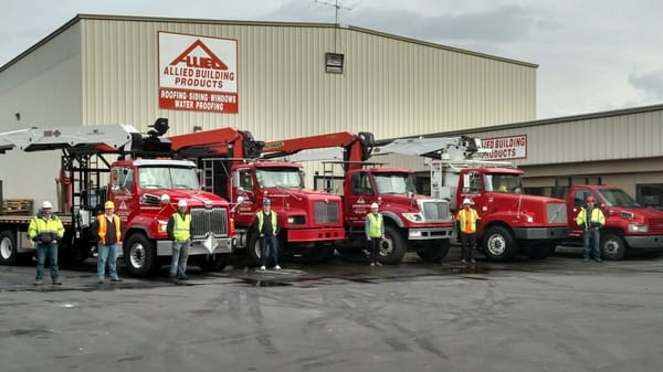 Photo Of Allied Building Products   Spokane, WA, United States. Fleet With  Employees