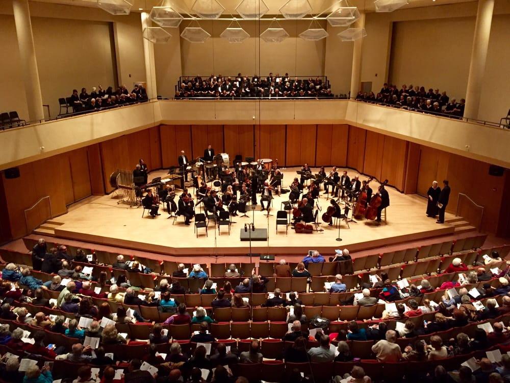 Pick-Staiger Concert Hall: 50 Arts Circle Dr, Evanston, IL