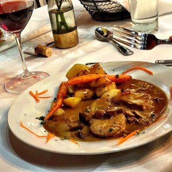 Photo Of Bacquet S Restaurant Eagle Id United States Pork Gorgonzola