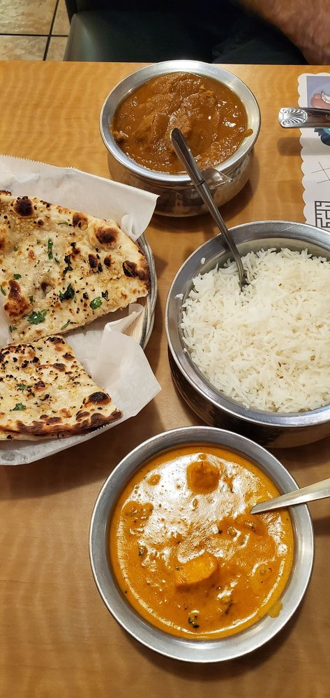 Food from Sizzler Cuisine of India